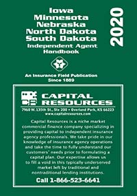 Iowa, Minnesota, Nebraska, North Dakota and South Dakota Indepdent Agent Handbook 2020 Edition Directory